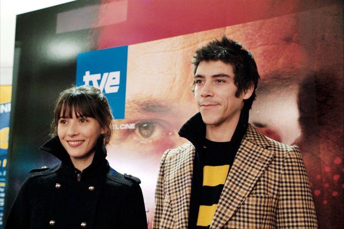 Óscar Jaenada y Bárbara Goneaga