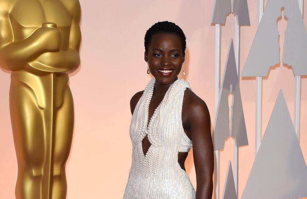 On a volé la robe que Lupita Nyong'o portait aux Oscars