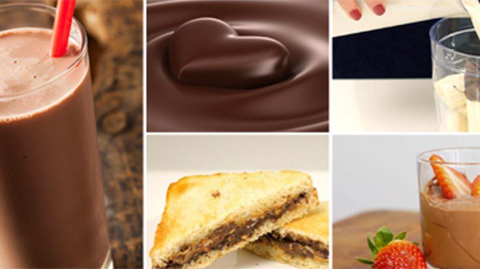 Verrückt nach Schokolade? Dann guckt mal, was wir hier für euch haben ...