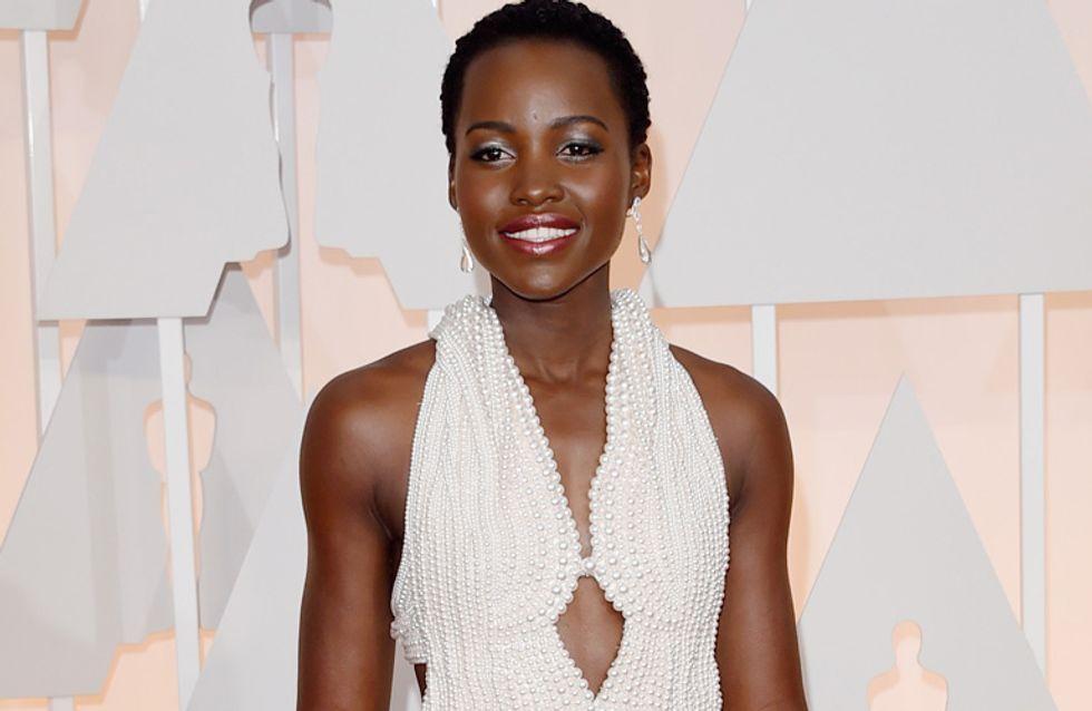 Roban el vestido de perlas que Lupita Nyong'o lució en los Oscar 2015