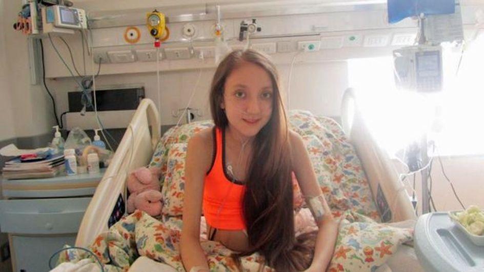 Dieses Mädchen ist unheilbar krank und ihr letzter Wunsch bricht uns das Herz