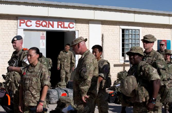 Des soldats britanniques en Afghanistan.