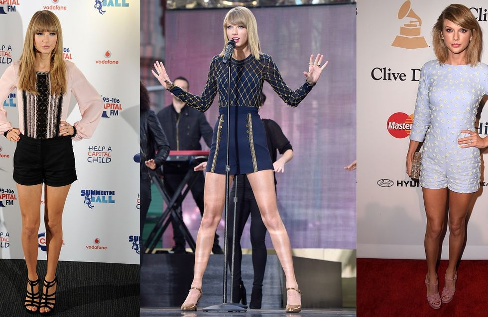 Taylor Swift en trois obsessions mode