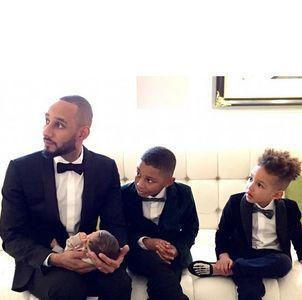 Swizz Beatz et ses enfants