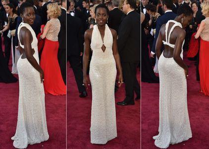 Lupita Nyong'o aux Oscars 2015