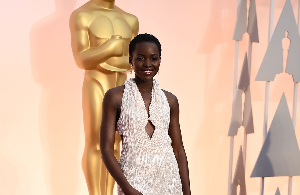 Recuperan el vestido que Lupita lució en los Óscar