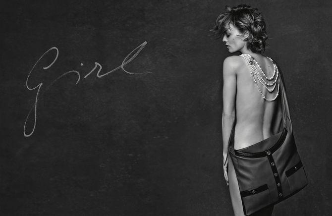 Vanessa Paradie se dénude pour Chanel