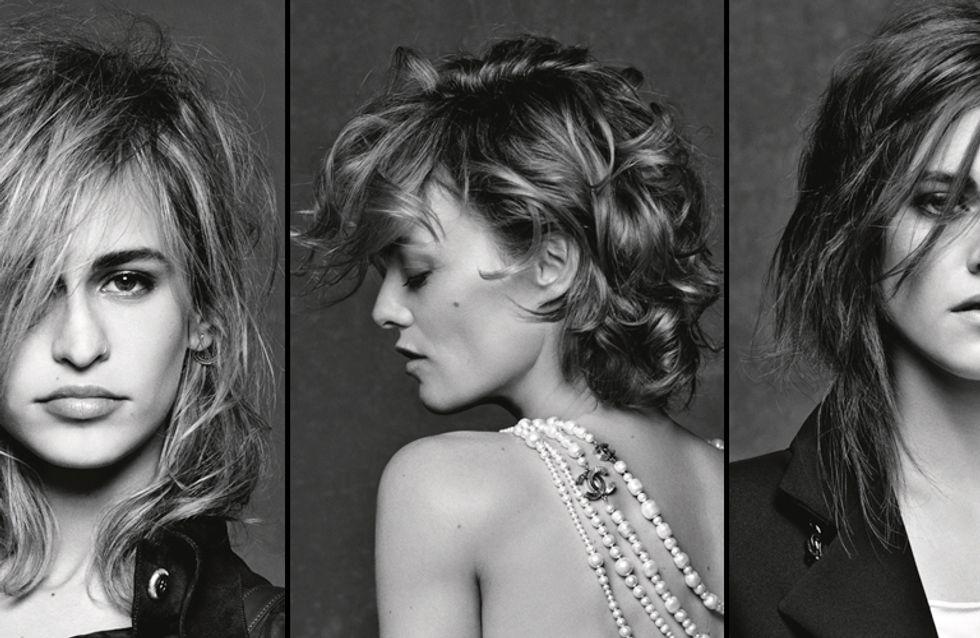 Kristen Stewart, Vanessa Paradis et Alice Dellal, égéries de charme pour Chanel (Photos)