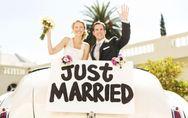 La voiture des mariés : nos idées pour la plus belle des entrées