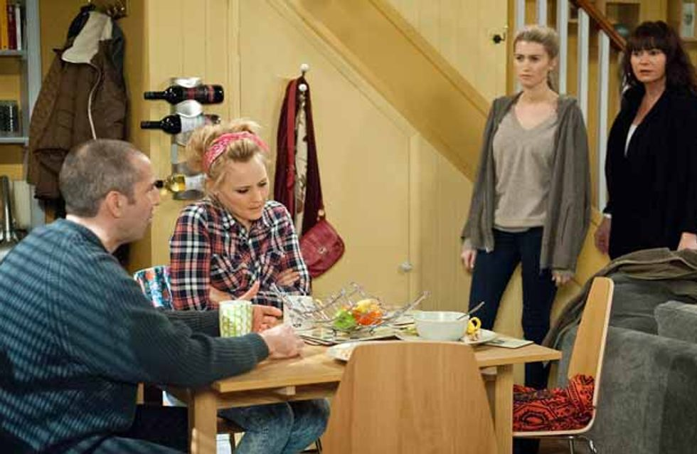 Emmerdale 10/03 - Doug worries about Laurel's drinking
