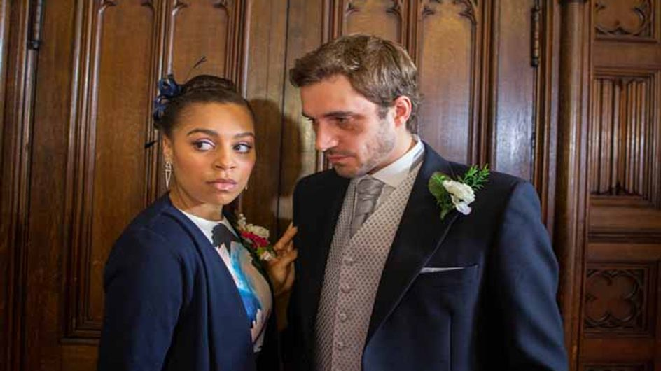 Coronation Street 09/03 - An unwelcome guest gatecrashes Gail's wedding