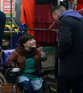 Eastenders 12/03 - Billy is worried when he realises Les hasn't come clean to Pam
