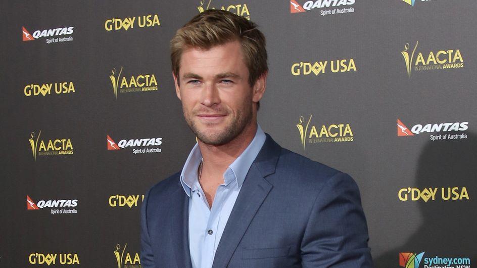 Chris Hemsworth gaga de sa fille (Photos)