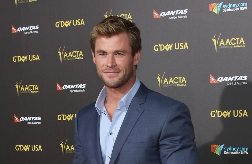 Chris Hemsworth gaga de sa fille (Photos)
