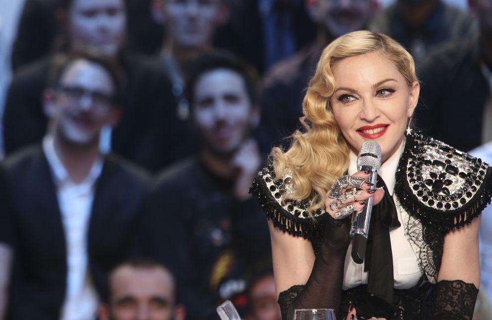 Madonna veut inviter Marine Le Pen à boire un verre