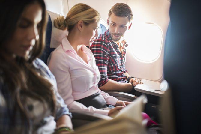 Faire l'amour en avion