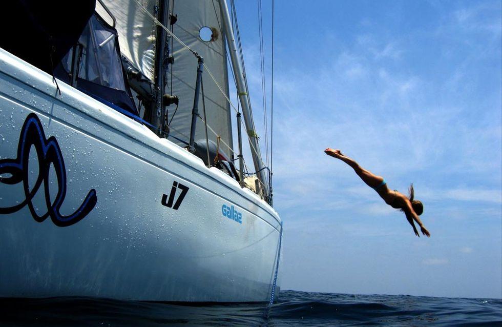 Depuis 8 ans, Capitaine Liz parcourt le monde à bord de son voilier