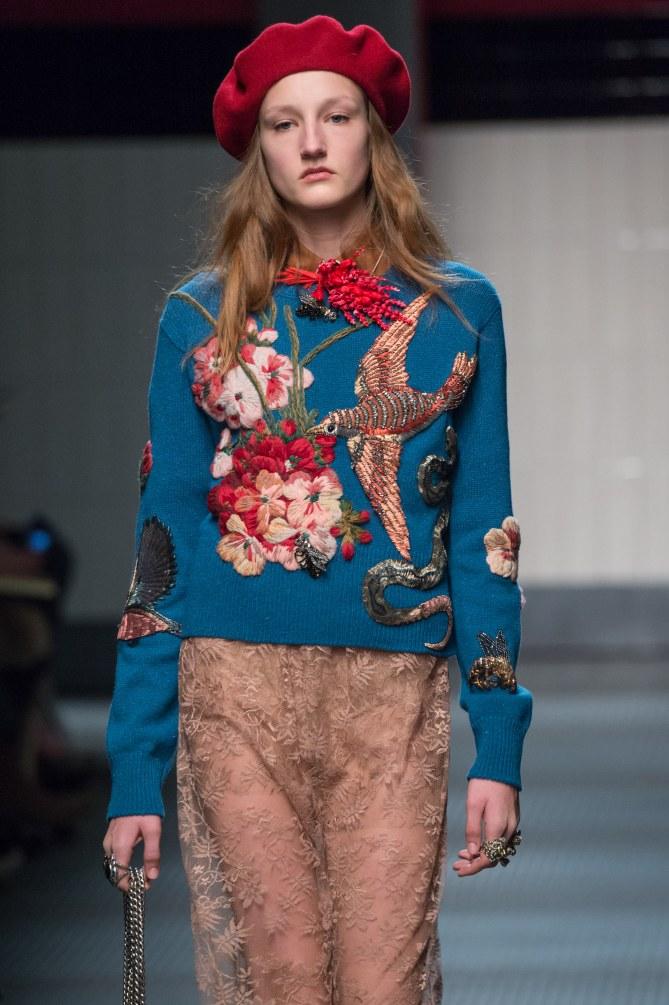 Gucci Milano Fashion Week autunno inverno 2015 2016