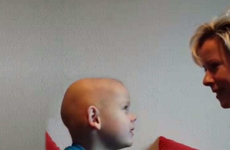 """""""Ich nehm' den Fuß als Arm"""": So tapfer reagiert der kleine Louis auf wirklich schlimme Neuigkeiten"""