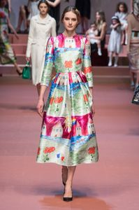 Dolce & Gabbana Milano Fashion Week autunno inverno 2015 2016