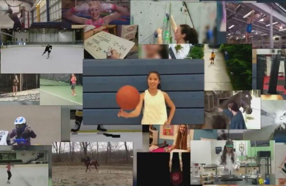 """""""Ensemble nous sommes plus fortes"""", la nouvelle campagne #CommeUneFille (Vidéo)"""
