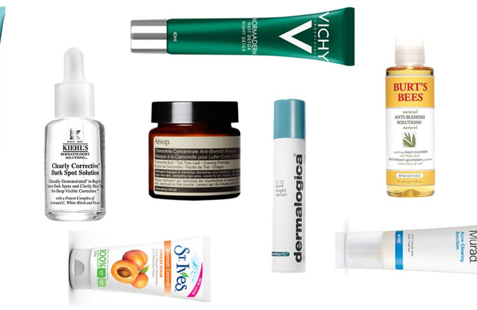 Get rid of Acne Scars! 10 Of The Best Blemish Busting Products