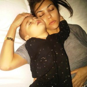 Kourtney Kardashian et son fils Mason
