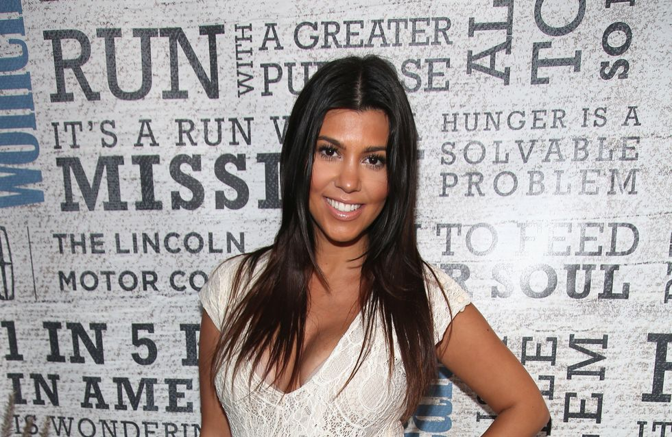 Kourtney Kardashian pose avec son fils (Photo)
