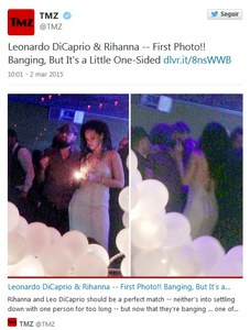 Rihanna y DiCaprio juntos
