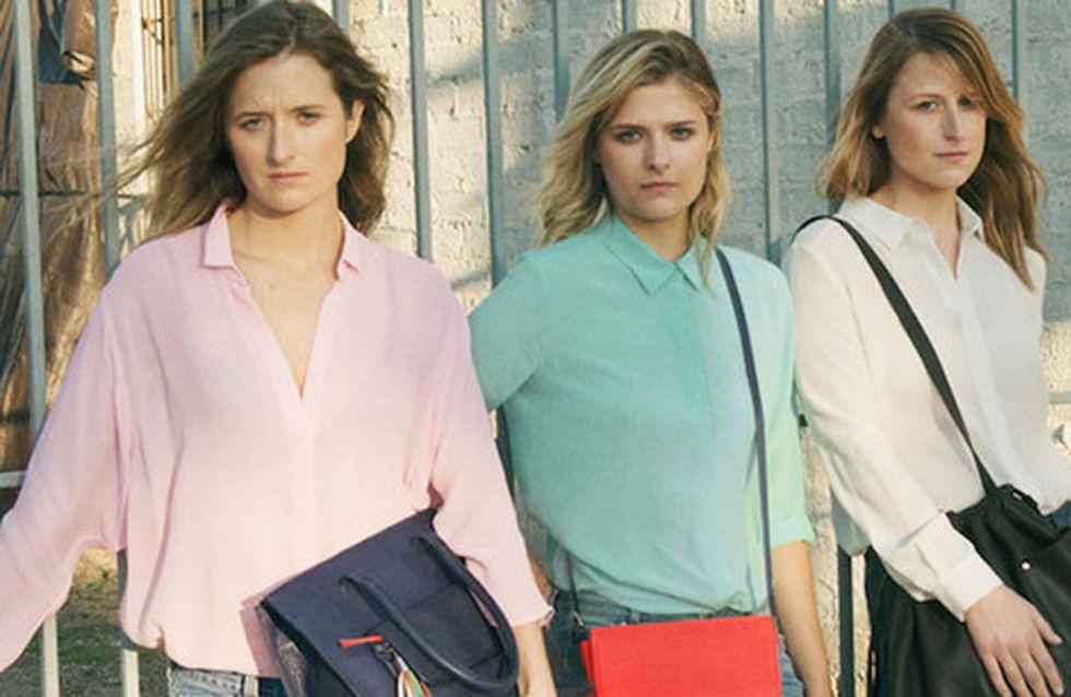 Modelle? No, figlie di Meryl Streep! Le tre sorelle posano per un noto brand di moda