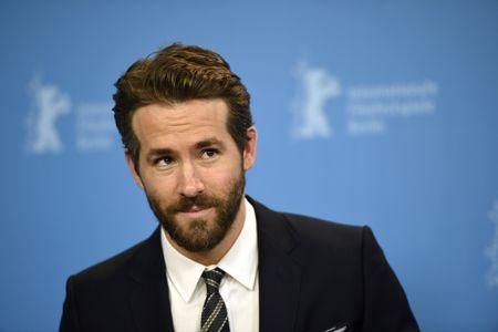 Ryan Reynolds à une première.