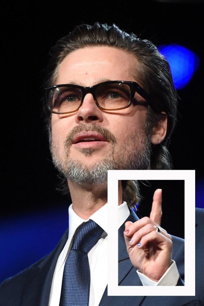 Manicure Brad Pitt