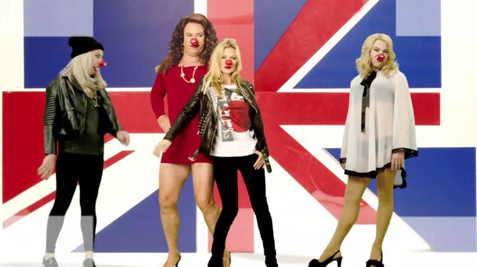 Red Nose Red, le nouveau rouge à lèvres de Kate Moss pour la bonne cause (Photos et vidéo)