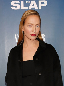 Uma Thurman à la présentation de The Slap.