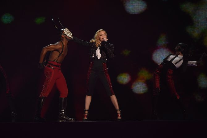 Madonna aux Brit Awards 2015