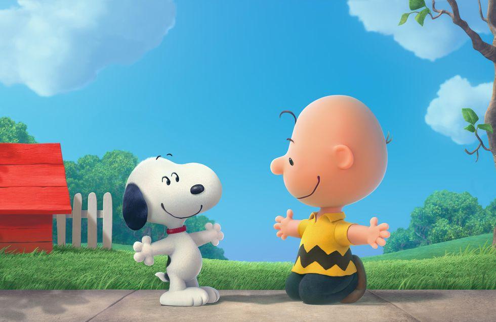 Pegue o lencinho e se prepare para o momento em que Charlie Brown conhece Snoopy