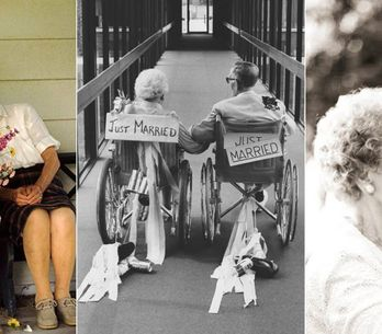 Diese 20 Fotos beweisen: Wahre Liebe kennt kein Alter