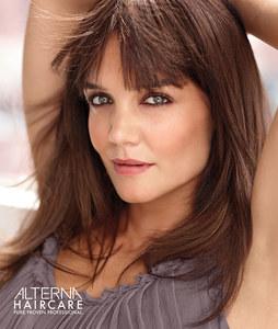 Katie Holmes pour Alterna Haircare