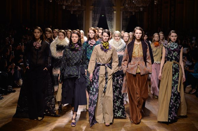 Dries Van Noten Parigi Fashion Week autunno inverno 2015 2016