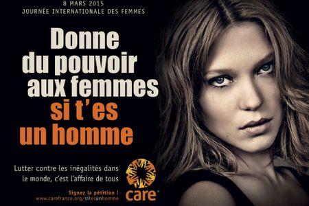 Léa Seydoux pour CARE