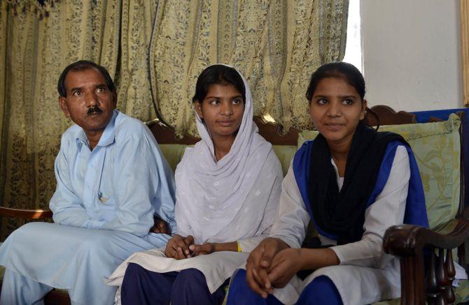 Ashiq, Esha et Esham, la famille d'Asia Bibi
