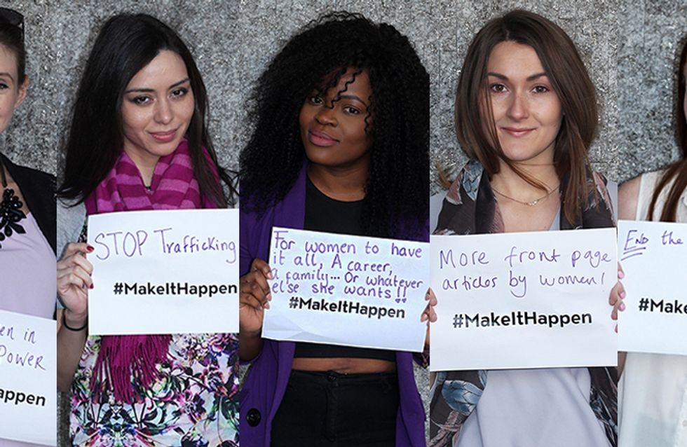 7 Things We Want To See Change This IWD #makeithappen