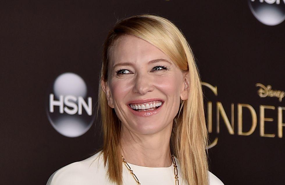 Cate Blanchett maman