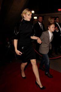 Cate Blanchett et son fils Roman en 2012