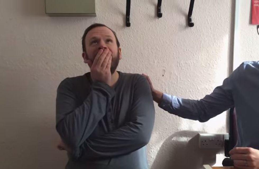 Was diesen vierfachen Vater zu Tränen rührt, bringt uns zum Schmunzeln