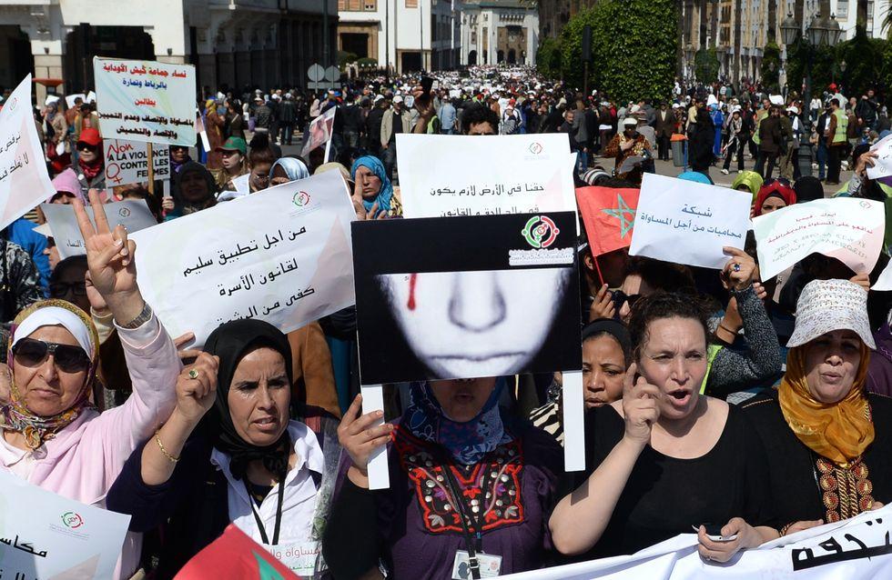 Des milliers de Marocaines dans la rue pour les droits des femmes