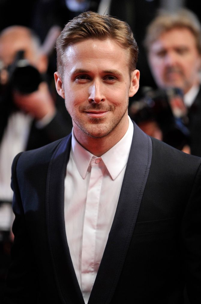 Ryan Gosling sur le tapis rouge.