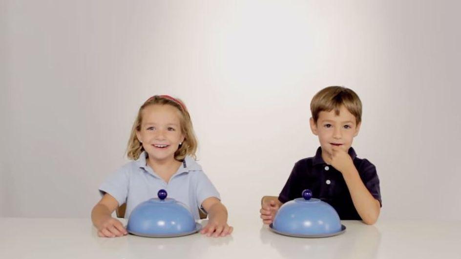Diese Kinder bekommen Teller vorgesetzt - und ihre Reaktion bringt uns zum Staunen