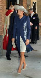Carole, la mère de Kate Middleton