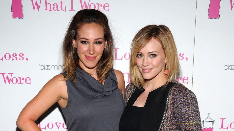 Hilary Duff a assuré pour la baby shower de sa sœur (Photos)